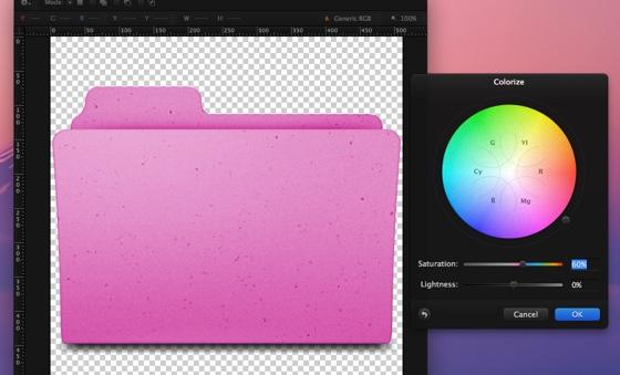 Pixelmator color 1