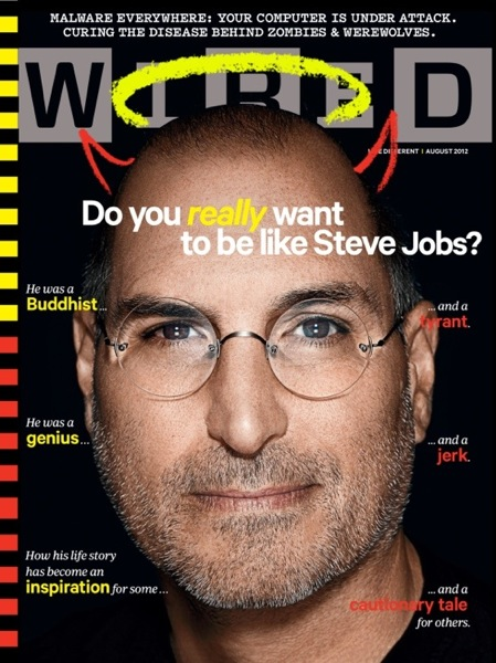 Steve jobs wired cover august 2012