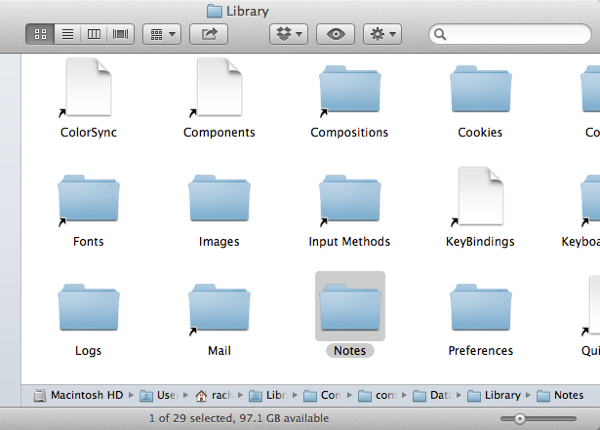 Librarynotes