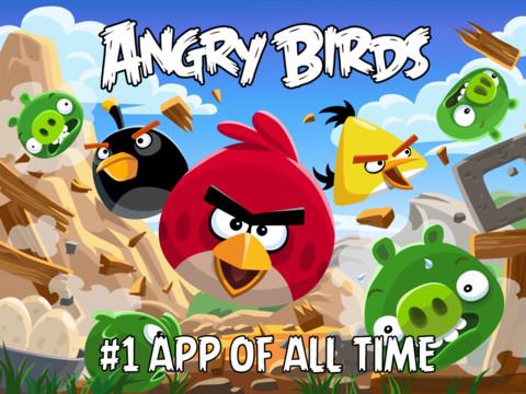 Angrybirds app