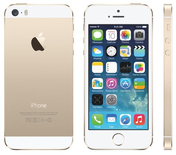 IPhone5s Gld iOS7 PRINT