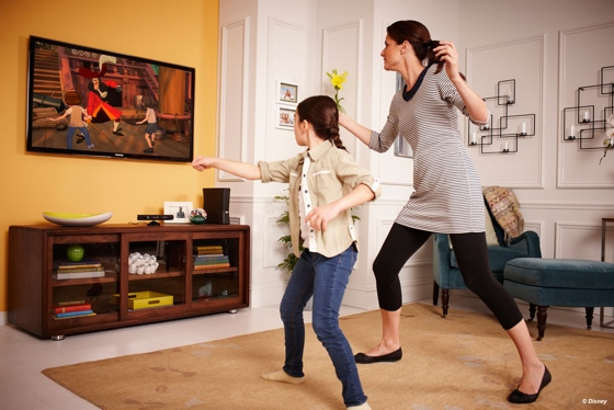 Kinect Immersive Adventures in Disneyland Web