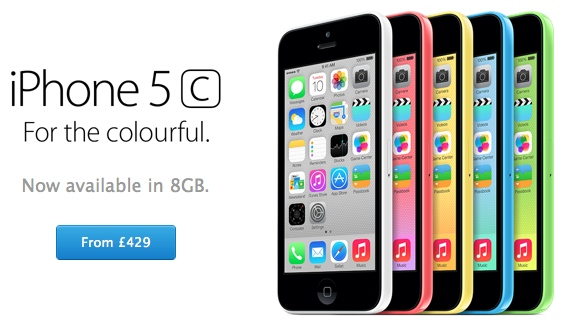 Iphone5c uk
