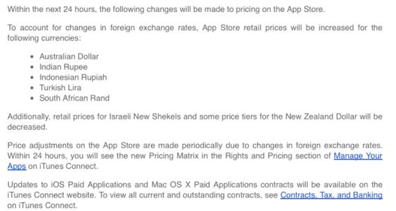 Appstore pricedrop