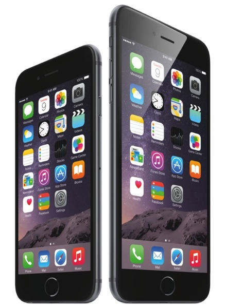 IPhone6 34FR SpGry iPhone6plus