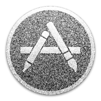 Appstore logo black