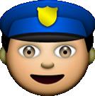 Police emoji 12