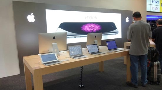 Applestore globs