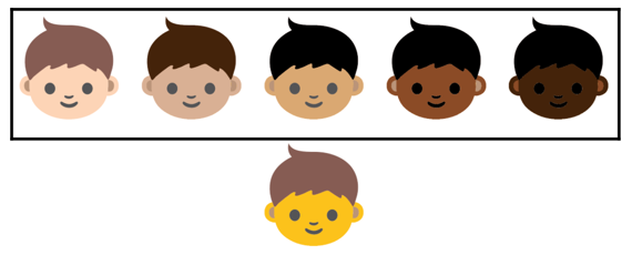 Emoji skins