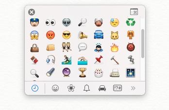 Emoji window 2
