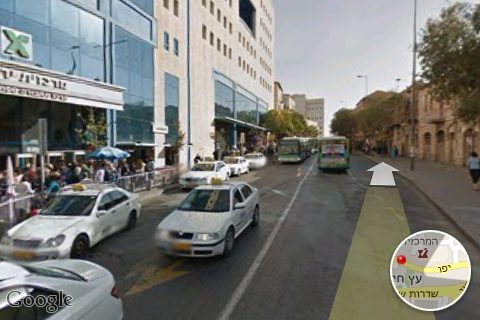 Googlestreet map j