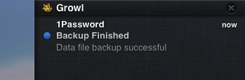 Growl1password