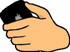 Iphone hand 2