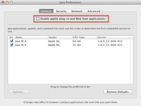 Java preferences1073