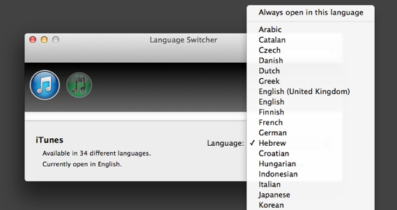Languageswitcher mac