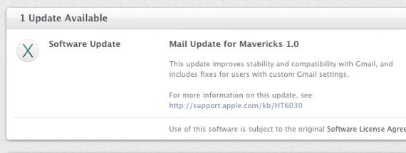 Mavericks mail 1
