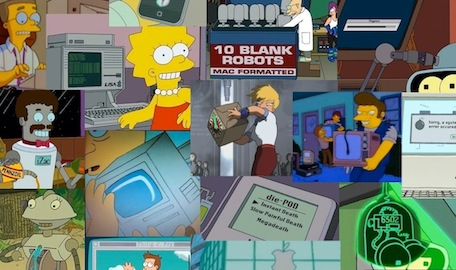 Simpsons futurama references