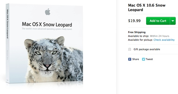 Snow onapplestore