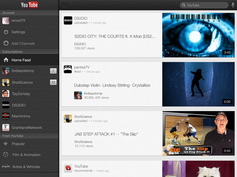 Youtube ipad 12