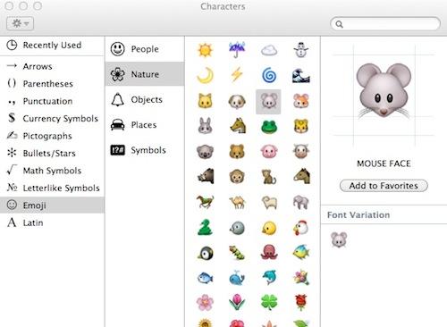 Characters emoji 1