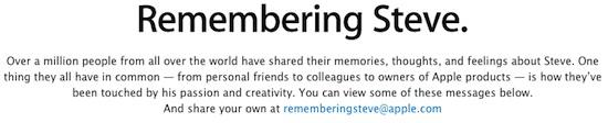 Remembering steve 1